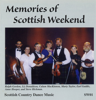 Cover: Memories of Scottish Weekend CD, 2002